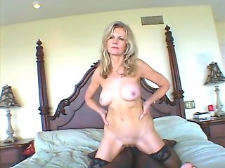 interracial, blonde, milf, straight, ,