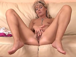 blonde, babe, european, fingering, masturbation, mature