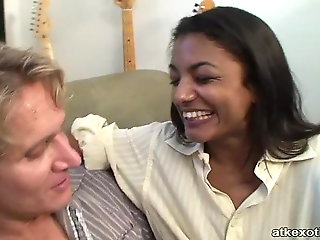 interracial, asian, doggy style, dirty talk, ,