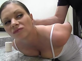 bondage, bdsm, brunette, fetish, hd, straight
