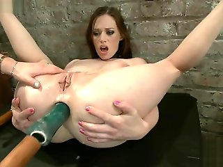 brunette, anal, hd, lesbian, straight, strapon