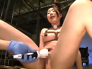 bandages/houtai, asian, bdsm, brunette, dildos/toys, hardcore