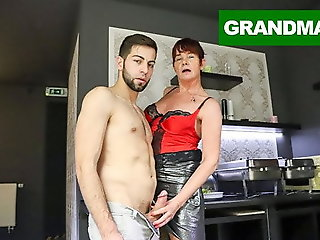 cumshot, blowjob, fingering, hardcore, old & young, granny