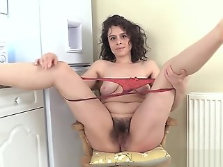 hairy, amateur, solo female, straight, ,